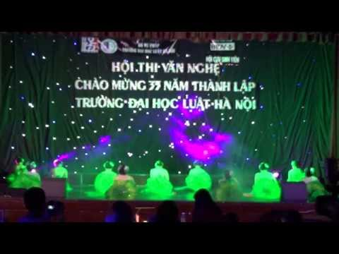 HLU- Múa Hương Sen Đất Việt- Tiết mục dự thi của Liên phòng HCTH, TCCB, TCKT, ĐT