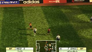 Jikkyou World Soccer 2002 Gameplay HD 1080p PS2