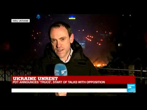 Ukraine: Yanukovych announces 'truce' with protest leaders