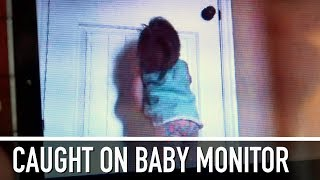 Adorable Toddler Can't Sleep | Caught On Baby Monitor