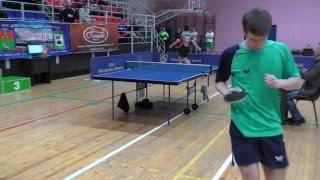 ФИНАЛ Илья ИЛЬИН - Виктор РАХМАНОВ Конаковская весна Table Tennis Настольный теннис