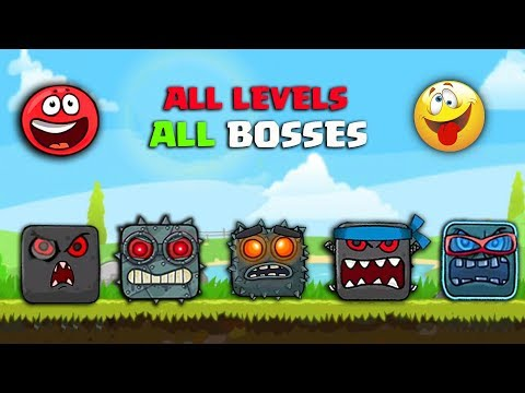 RED BALL 4 - ALL LEVELS ALL VOLUMES ALL BOSSES