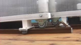 видео Сдвижная и раздвижная крыша дома: механизм, установка