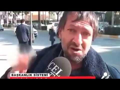 Mersin'de  Bir Vatandaşın Başkanlık Referandumu Hakkında Efsane Düşünceleri