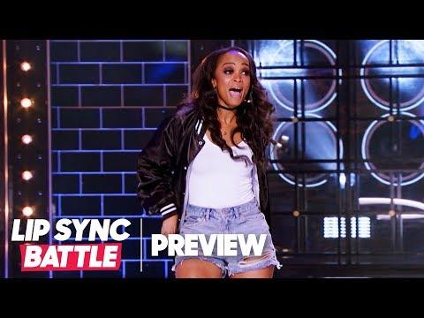 Rachel Lindsay Dances w Style to SaltNPepas Shoop  Lip Sync Battle Preview