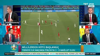 Kupa Gecesi | İtalya-Türkiye maç sonu yorumları, pozisyon analizleri...