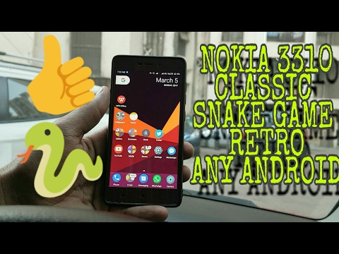 Nokia 3310 Classic Snake Game On Any Android!