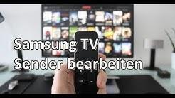 Samsung TV 2017/18 Sender sortieren