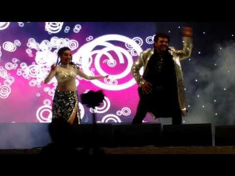 Bhojpuri Hungama Dance Doha Qatar Khesari Lal Yadav, Kajal Raghwani with Akshra Singh 04-03-2016