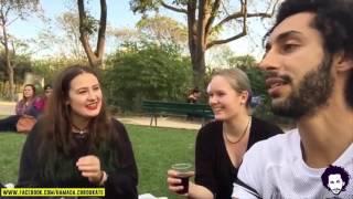 Hamada Chroukate: Vlog01  مغربي يسال اجنبيات : هل تقبلن الزواج برجل لا يملك المال ؟