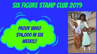 Six Figure Stamp Club $14,000 in Six Weeks Direct Mail Marketing How To Earn Offline