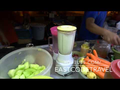 Indonesian Ice Juice Drink  Java Street Food