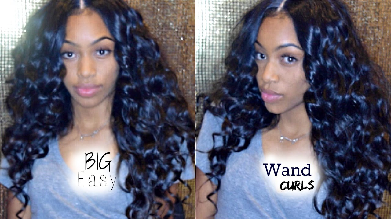 Hair Tutorial Voluminous Wand Curls Youtube