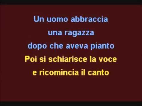 Caruso - Karaoke - en Mi bemol menor