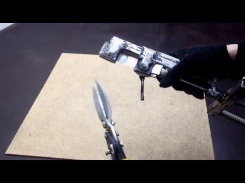 Самодельный инструмент натяжки бандажной ленты и ленты сип