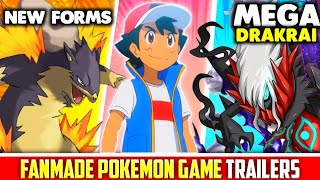 7 BEST POKEMON FANMADE GAME TRAILERS EVER?   NEW POKEMON STARTERS   FANMADE POKEMON GAMES IN HINDI