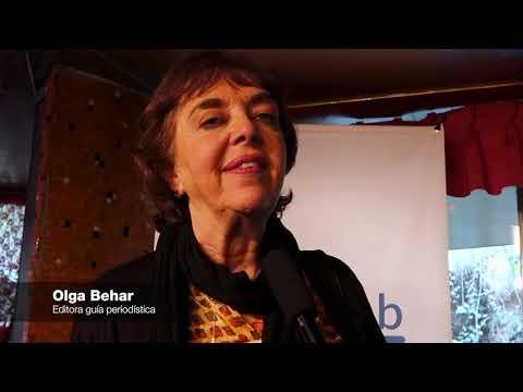 Lanzamiento guía Pistas para cubrir la implementación del acuerdo de paz, entrevista Olga Behar.