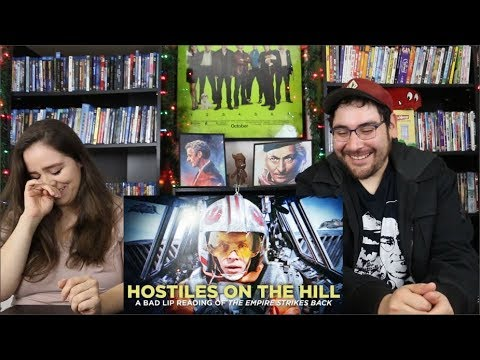 HOSTILES ON THE HILL A Bad Lip Reading Reaction / Review