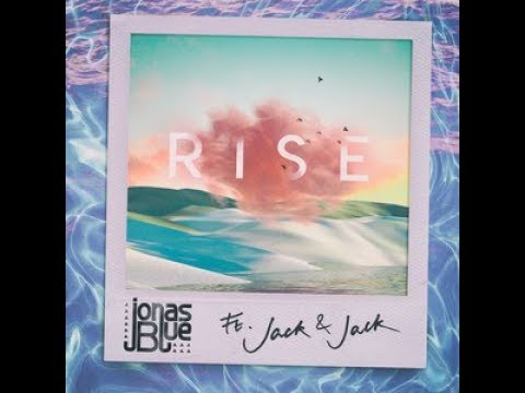 Jonas Blue - Rise ft. Jack & Jack Official Instrumental