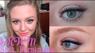 GRWM - Soft, Feminime Makeup ♡ Makeup Tutorial | LulaBella11