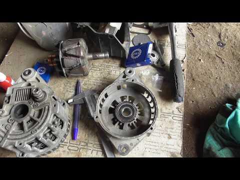 Ремонт генератора Daewoo Lanos