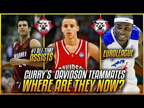Where Are STEPHEN CURRY'S Davidson Teammates Now In 2018?