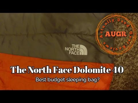 32ea3a505 Sleeping Bag - The North Face Dolomite 40 - Best bag for the budget -  Acutually Used Gear Reviewss