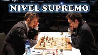 AJEDREZ NIVEL DIOS (impresionante): Caruana vs Carlsen (GRENKE, 2019)