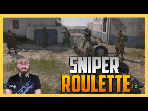 A Very Rigged Sniper Roulette in COD WW2