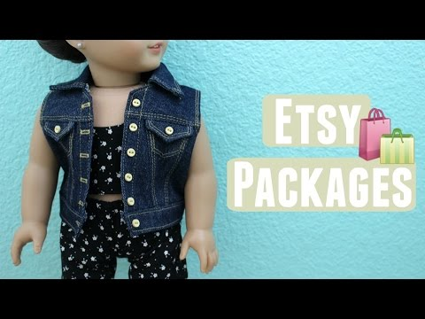 Opening Etsy Packages ll ilovesabie