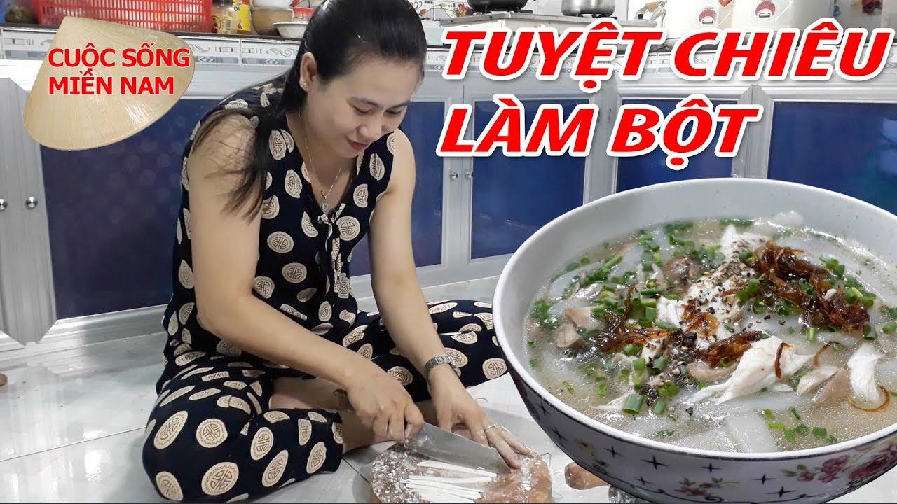 Cách làm Bánh Canh Cá Lóc Ngon (2 Loại Bột) #namviet
