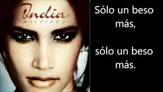 India Martinez - Un Beso Mas Letra Lyrics