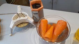 Морковные салаты для всей семьи