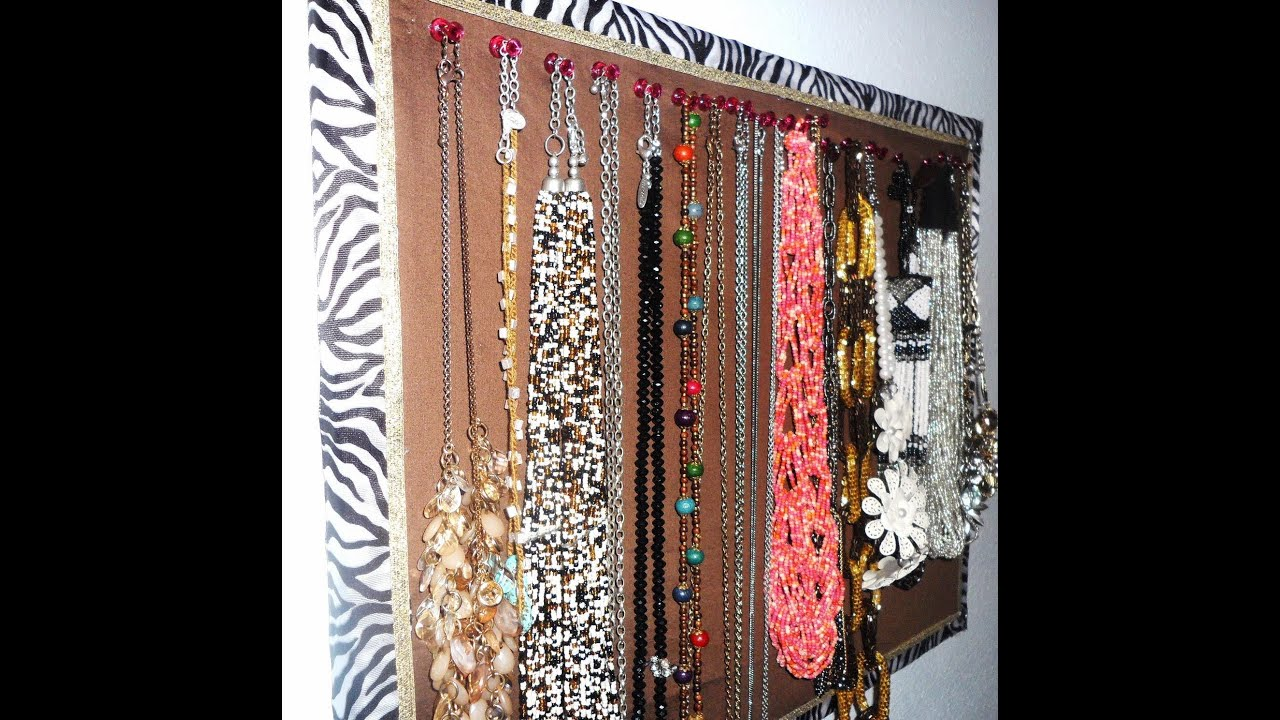 Make Jewelry Display Board