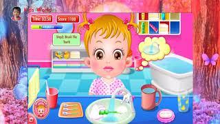 Baby Hazel Game-Baby Hazel Brushing Time-Kids World Kem Channel