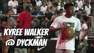 Kyree Walker PULLED UP To Dyckman! Full Highlights
