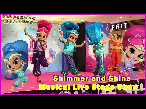 Shimmer and Shine Live Musical Show at City Square Mall