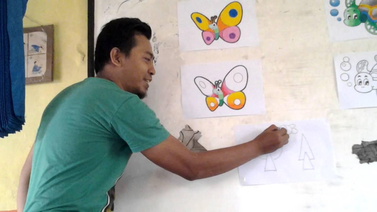 Pelatihan Mewarnai Dan Menggambar Untuk Guru Paud Tk 6 Youtube