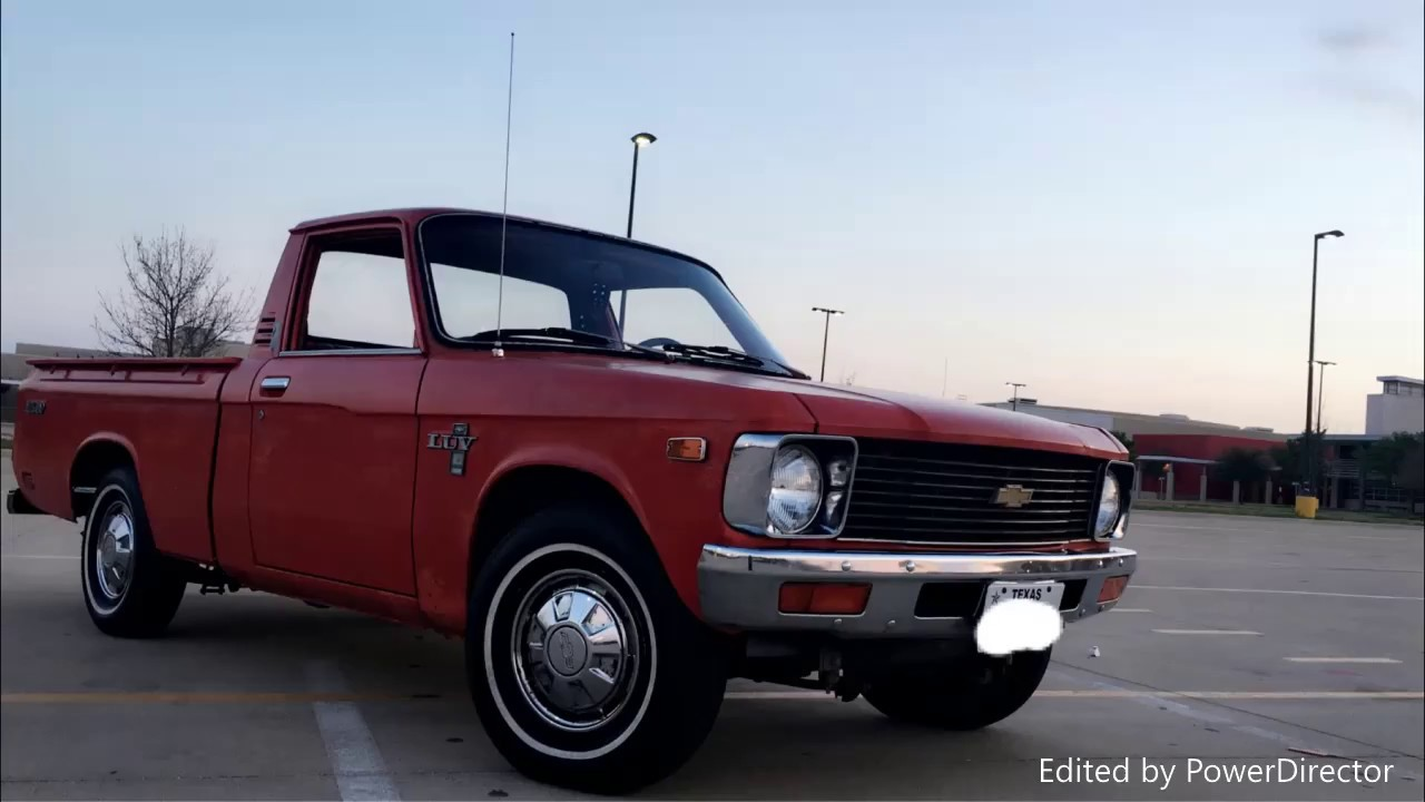 Original Chevy Luv Cruising Around 1979 Mikado Youtube 1980 Specs