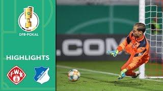 Würzburger Kickers - TSG Hoffenheim | Highlights | DFB-Pokal 2019/20 | 1. Runde