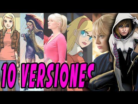 10 versiones de Gwen Stacy