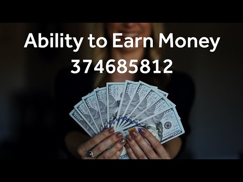 Grabovoi Numbers - Ability to Earn Money - 374685812