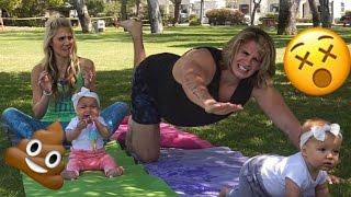 BABY TWINS YOGA CHALLENGE!!