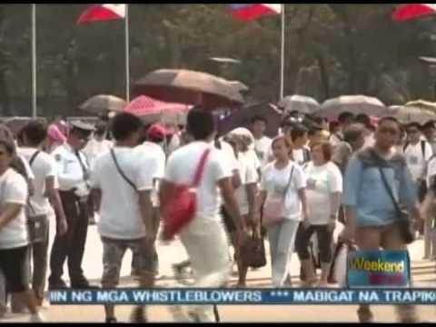 [The Weekend News] World wide walk ng INC, nasungkit ang world record [02|16|14]