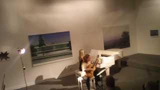 Weber Divertimento op. 38 - Heike Matthiesen und Lydia Maria Bader