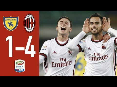 AC Milan is back: Chievo Verona - Milan 1-4. GOALS & HIGHLIGHTS