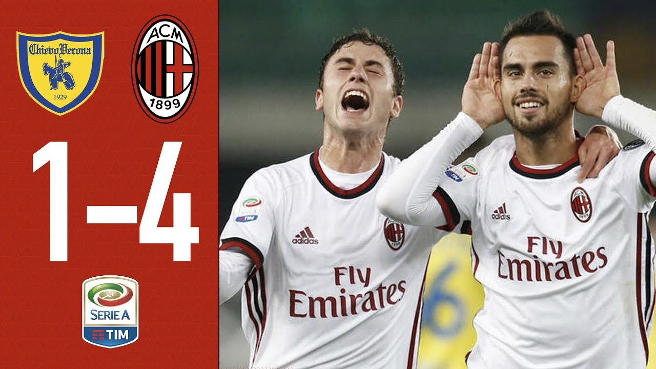 AC Milan is back: Chievo Verona - Milan 1-4. GOALS & HIGHLIGHTS