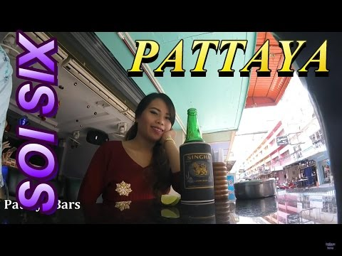 "Pattaya Soi 6 ""No Bar Fine Today""  Thailand March 1st 2016"