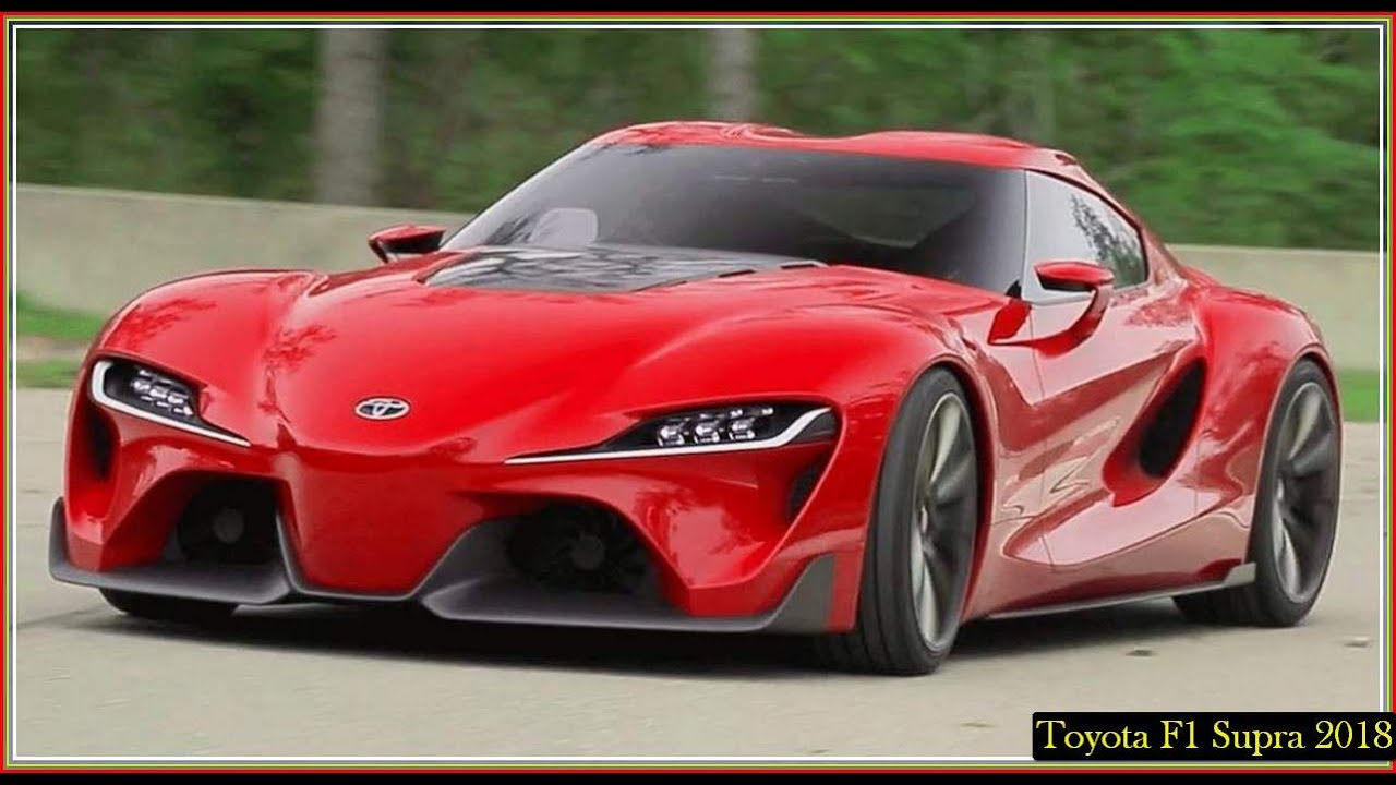 Toyota Supra 2018 F1 Twin Turbo Manual Speed Youtube