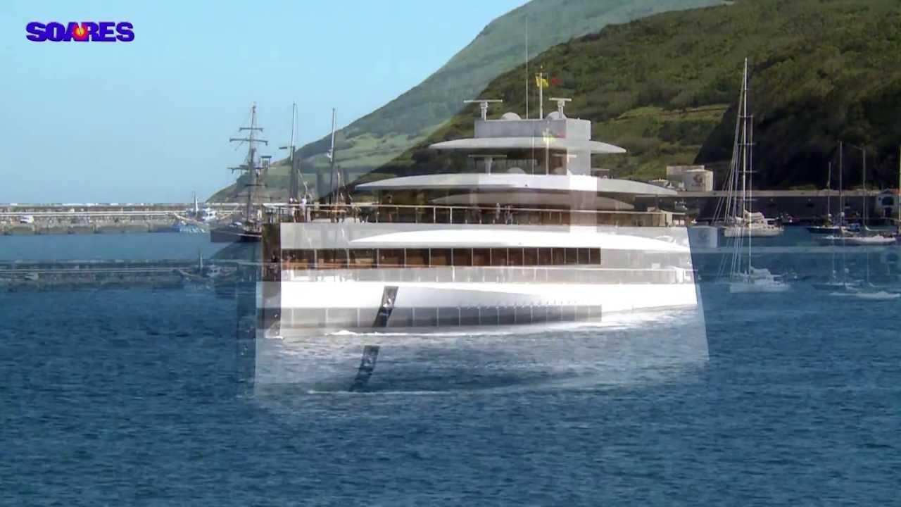 Steve Jobs Yacht Venus Horta Azores Youtube